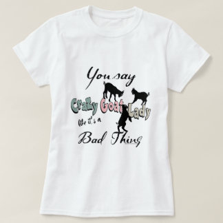 Southwest Colorsおもしろいなヤギ|の熱狂するなヤギの女性 Tシャツ