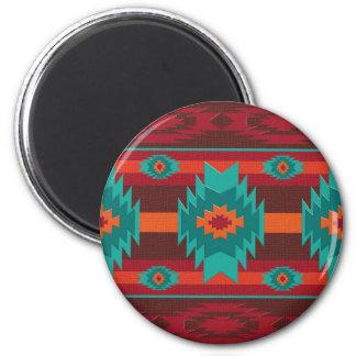 Southwestern navajo geometric pattern. マグネット