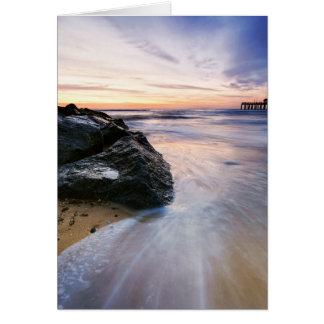 Southwoldのビーチの日の出16. カード