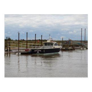 Southwoldのモーターボートのヒョウ ポストカード