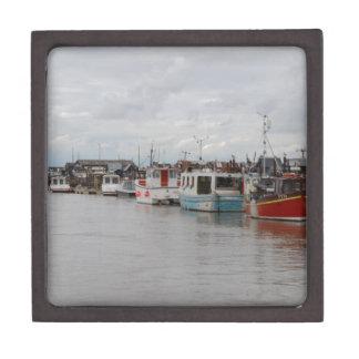 Southwoldの川のボート ギフトボックス