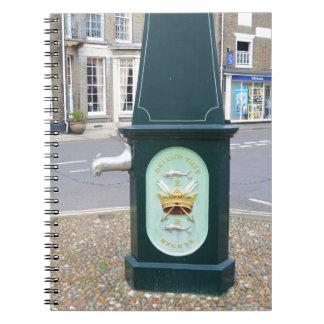 Southwoldの水ポンプ ノートブック