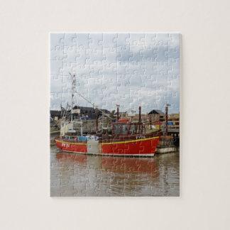 Southwoldの漁船のアクエリアス ジグソーパズル