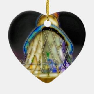Southwoldの灯台の抽象芸術 セラミックオーナメント