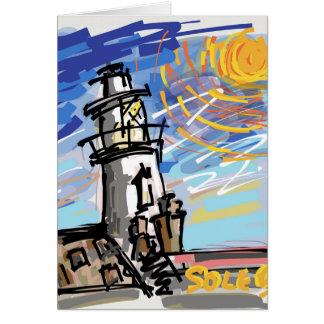 Southwoldの灯台 カード
