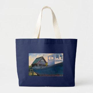 Southwold港 ラージトートバッグ