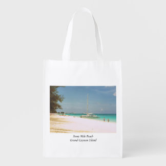 Souvenir Bag with Beach Scene エコバッグ
