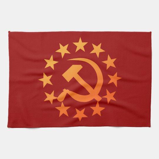 Soviet 3 キッチンタオル