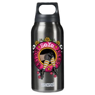 SoYoのローラーのダービーのロゴ 断熱ウォーターボトル