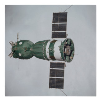 Soyuzの宇宙船(アポロSoyuzテストプロジェクト) ポスター