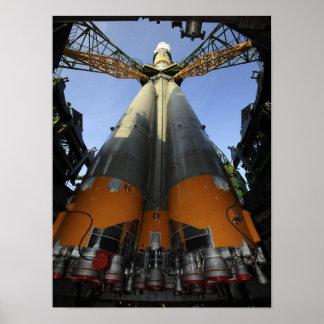 Soyuz TMA-13の宇宙船2 ポスター