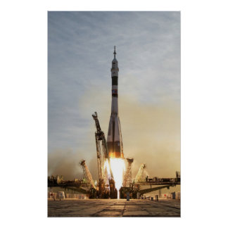 Soyuz TMA-5の進水ポスター宇宙船 ポスター