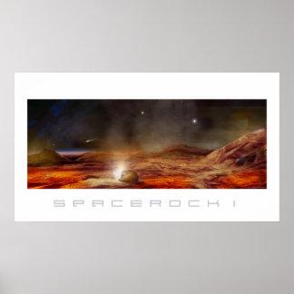 Spacerock I -ポスター ポスター
