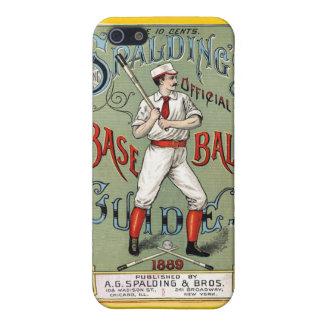Spaldingsの公式の野球ガイド1889年 iPhone 5 カバー
