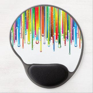 Sparkling Liquid Rainbow ジェルマウスパッド