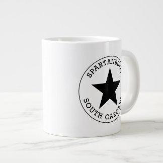 Spartanburgサウスカロライナ ジャンボコーヒーマグカップ