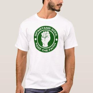 Spartansの精神 Tシャツ