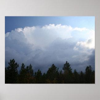 Spearfish渓谷の雷雨ポスター ポスター