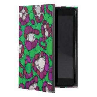 Spearmintの紫色のチータの抽象芸術 iPad Mini ケース