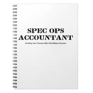 Spec Opsの会計士 ノートブック