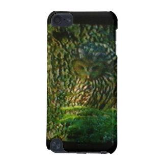 Speckの上の場合から見ているフクロウ iPod Touch 5G ケース