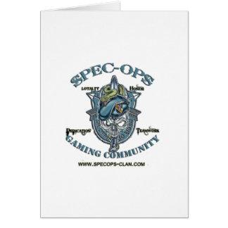 SpecOps賭博のコミュニティ カード