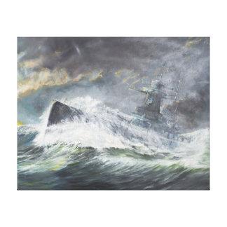 Speeグラーフはインド洋に11月3日入ります キャンバスプリント
