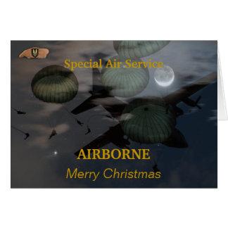 Speicalの航空業務sasイラクは退役軍人カードを診察します カード