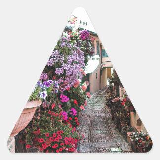 SpelloのWindows、バルコニーおよび花の細道 三角形シール