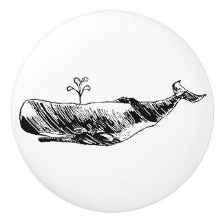 Spermwhaleの図解入りの、写真付きのなノブ セラミックノブ
