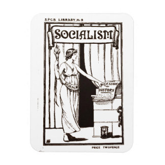 SPGBの図書館9人のSocialismの(1920年の)パンフレットカバー無し マグネット