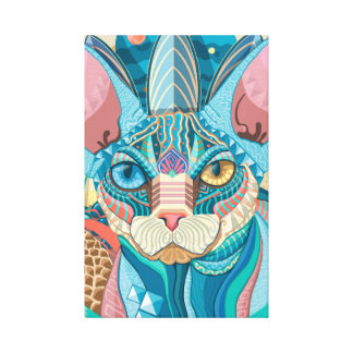 Sphynx宇宙猫 キャンバスプリント