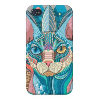 Sphynx宇宙猫 iPhone 4/4S ケース
