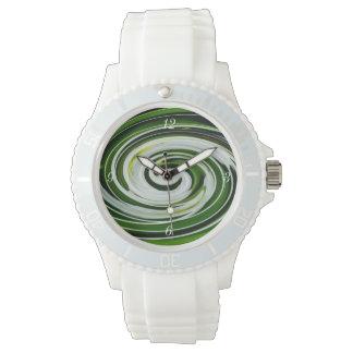 SpiderLilyのねじれ 腕時計
