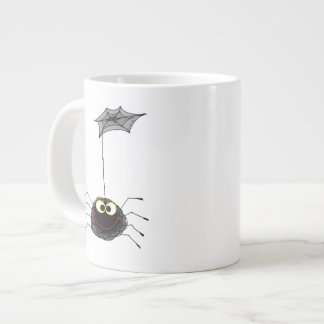 Spiderwebおよび小さいくも ジャンボコーヒーマグカップ