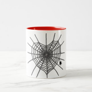 Spiderwebのハート ツートーンマグカップ