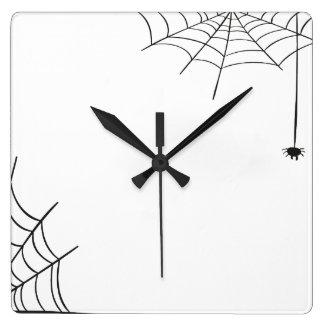 Spiderwebの柱時計 スクエア壁時計