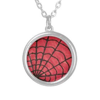 Spiderweb シルバープレートネックレス