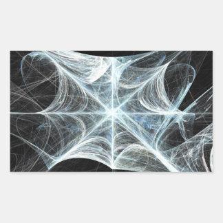 Spiderweb 長方形シール