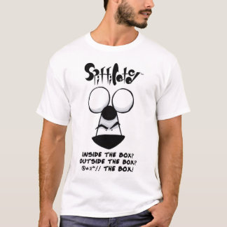 """Spifficated - """"箱""""のの外のマイルTシャツ Tシャツ"""