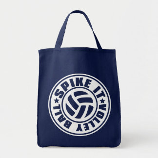 Spike_It_Volleyball トートバッグ