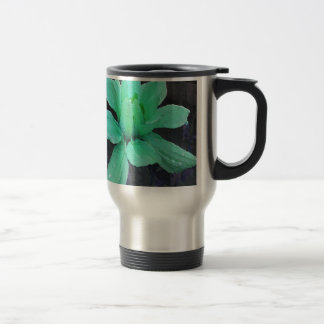 spinderok -薄緑のダリア トラベルマグ