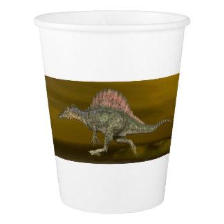 Spinosaurusの恐竜- 3Dは描写します 紙コップ