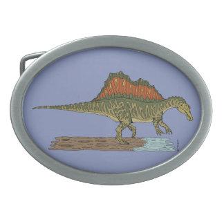 Spinosaurus 卵形バックル