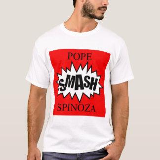 spinozaは立場を持続させます tシャツ