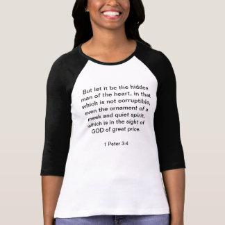 Spiriit柔和で、静かな1ピーターの3:4 Tシャツ