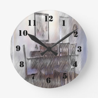 SPisebord 01.jpg ラウンド壁時計
