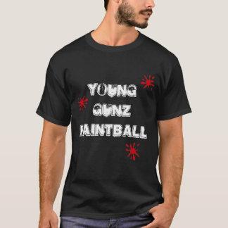 SplatsのGunzの若いペイントボール Tシャツ