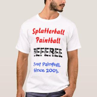 Splatterballのペイントボール Tシャツ