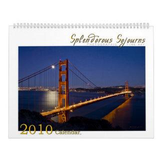 Splendorousによっては2010カレンダーが一時滞在します カレンダー